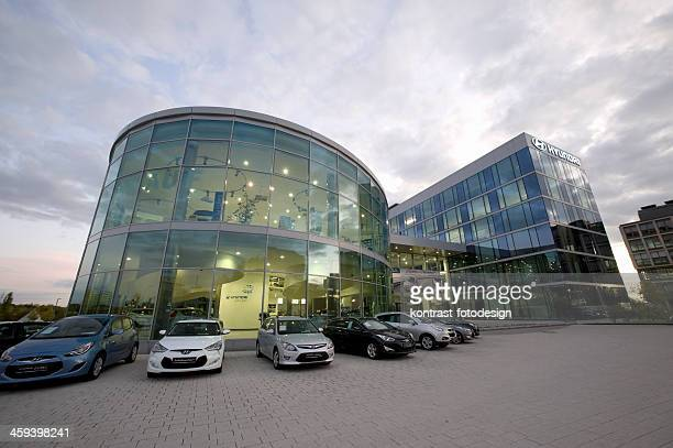 hyundai european headquarter - car dealership stock pictures, royalty-free photos & images