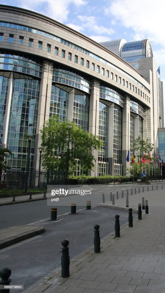 European Parliament, Brussels : Stock Photo
