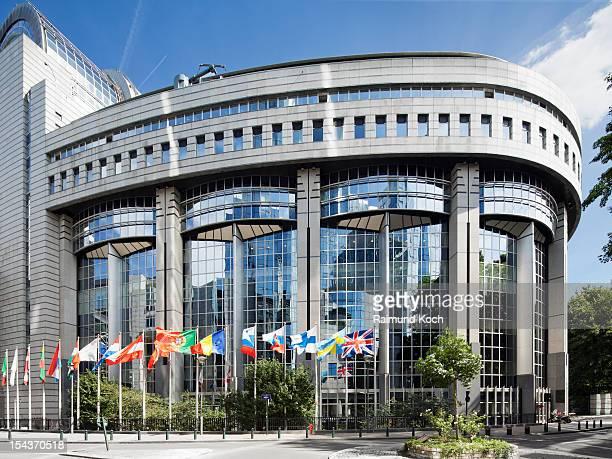 European Parliament building, Brussels