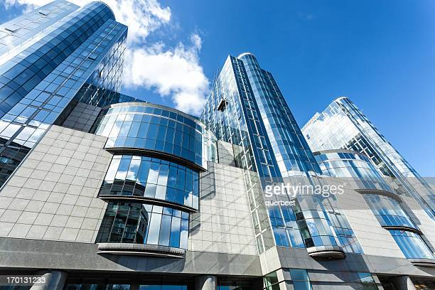 european parliament in brussels - european parliament stock pictures, royalty-free photos & images