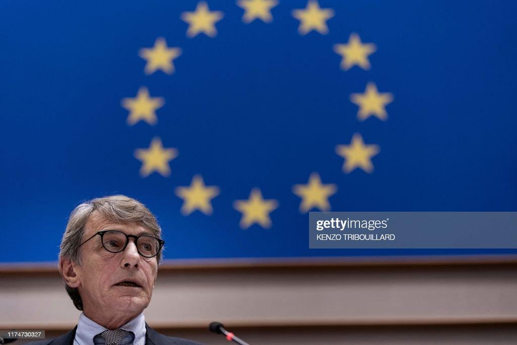 BELGIUM-BRITAIN-POLITICS-EU-BREXIT : News Photo