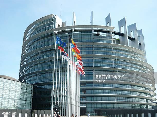 欧州議会 - ストラスブール、フランス。 - 欧州議会 ストックフォトと画像