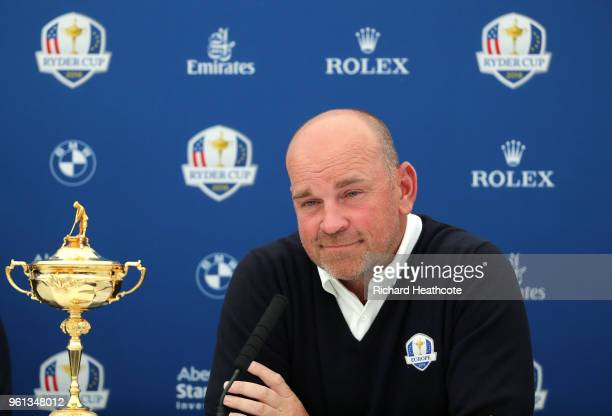 European Ryder Cup Captain Thomas Bjorn announces his vice captains Graeme McDowell Lee Westwood Luke Donald and Padraig Harrington for the 2018...