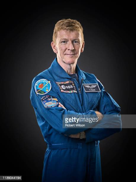 European Space Agency astronaut Tim Peake is photographed for the Times on August 24, 2017 in Bordeaux, France.