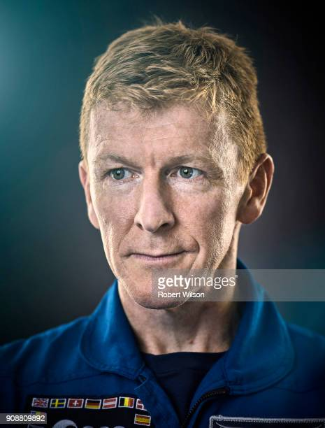 European Space Agency astronaut Tim Peake is photographed for the Times on August 24 2017 in Bordeaux France