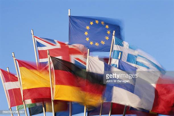 European Union and member state flags