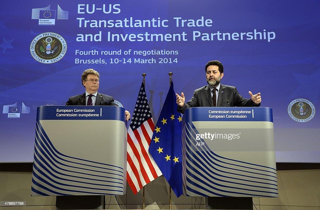 BELGIUM-EU-US-TRADE : News Photo