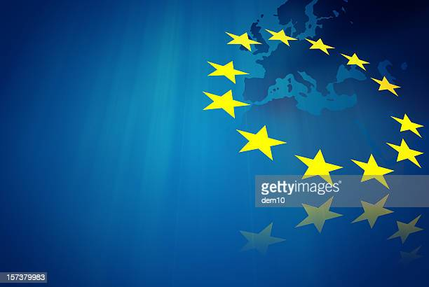 european union concept - european union flag stock photos and pictures