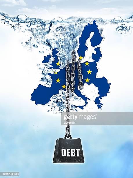 European Union countries - foreign debts