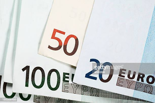 european union currency - twenty euro banknote stock photos and pictures