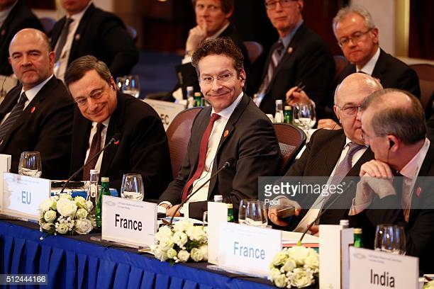 European Union Economic and Financial Affairs Taxation and Customs Commissioner Pierre Moscovici European Central Bank President Mario Draghi...