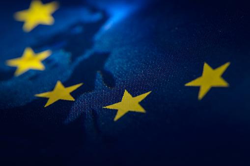 European Union Flag banner 1045879916