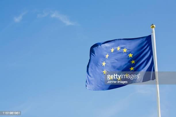 european union flag - 欧州連合旗 ストックフォトと画像