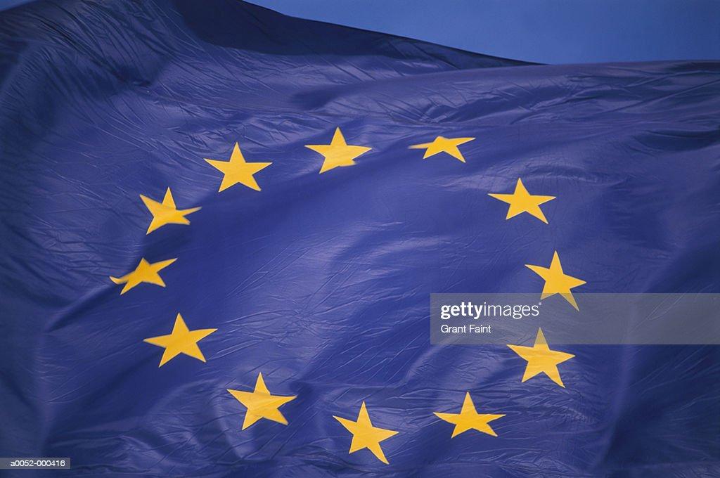 European Union Flag : Stock Photo