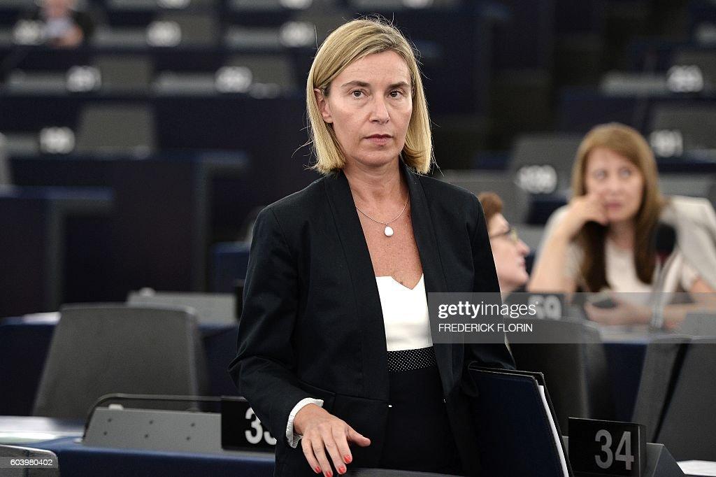 FRANCE-EU-PARLIAMENT : News Photo
