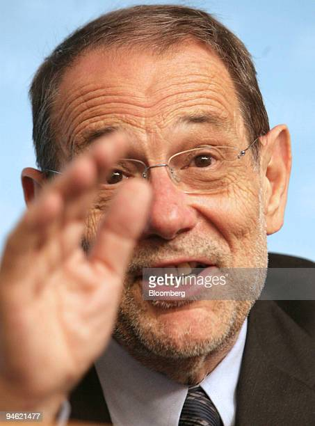 European Union foreign policy chief Javier Solana, speaks during a press conference after an EU-Albania cooperation council in Luxembourg, Tuesday,...