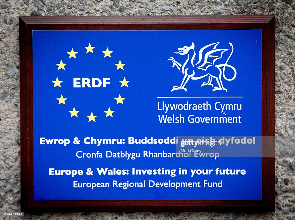 EU Referendum - European Funding In Wales : News Photo