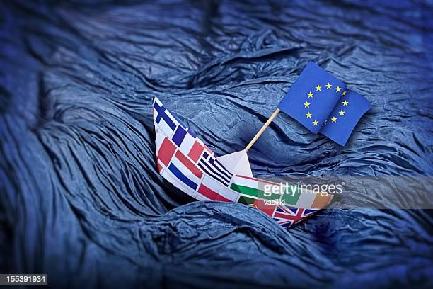 unione europea di problemi - politica foto e immagini stock