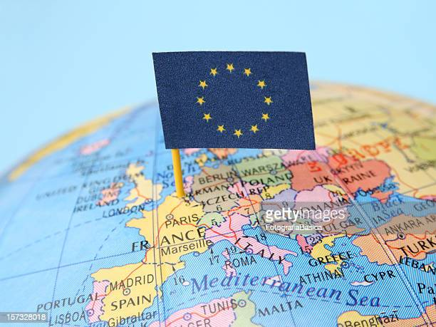 european union - european union flag stock photos and pictures