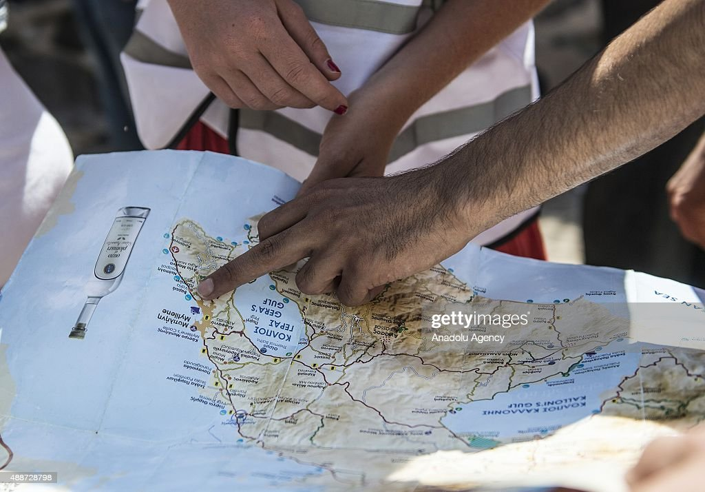 European volunteers help refugees in Greece's Lesbos Island : News Photo