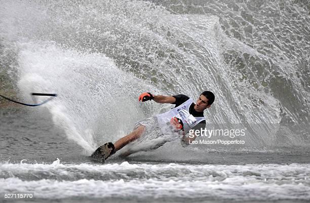 European Water Ski Championships Thorpe UK Mens Open slalom preliminary round competitor | Location Thorpe England United Kingdom