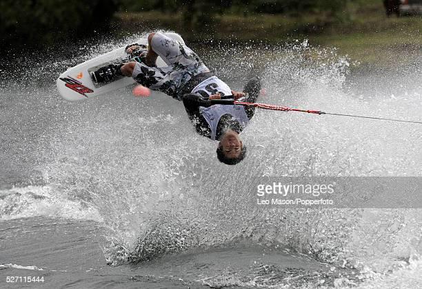 European Water Ski Championships Thorpe UK Mens Open tricks preliminary round competitor Ladies Open tricks preliminary round competitor   Location:...