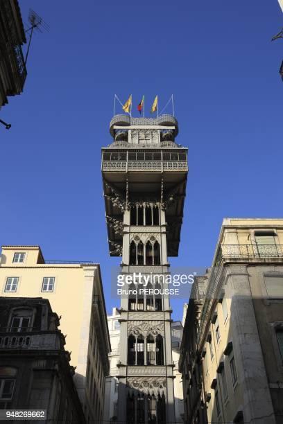 EuropePortugalLisbonsanta Justa elevatorelevador santa Justa