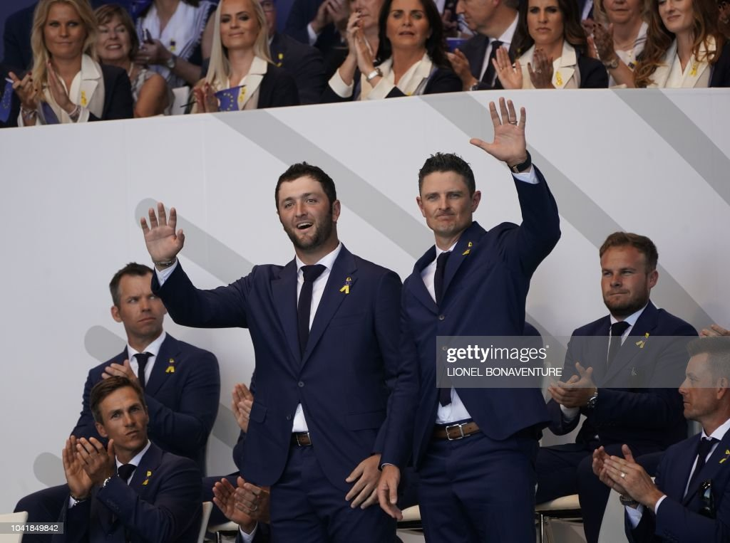 GOLF-FRA-RYDER-CUP-OPENING : News Photo