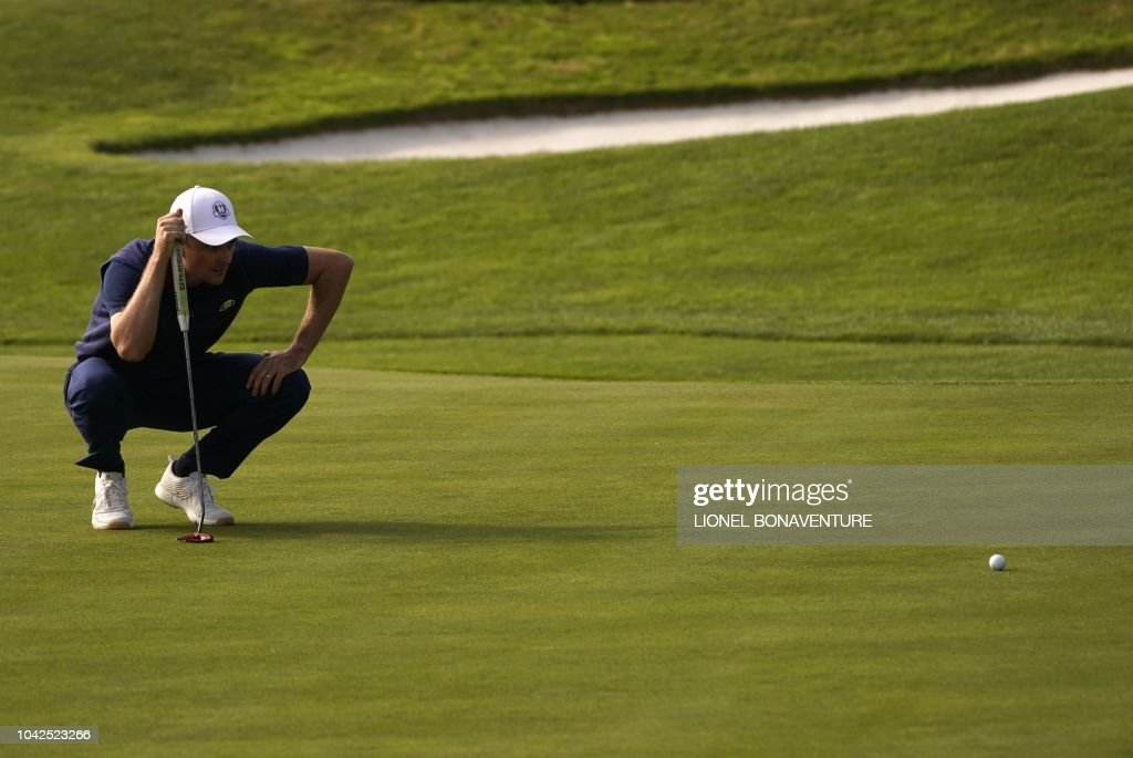 TOPSHOT-GOLF-FRA-RYDER-CUP-DAY ONE : News Photo