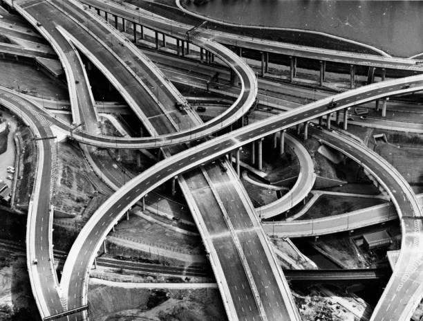 Europe's largest multi-level interchange 'Spaghetti...