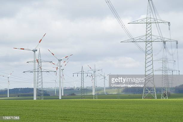 Europe's largest onshore windfarm with a yearly energy output of 180 million KW for a total area of 756 hectares