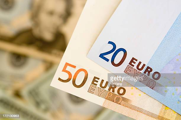 euros against dollars hz - monetary policy stock pictures, royalty-free photos & images