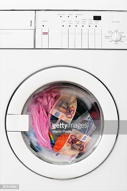 euros in washing machine fallen out of jeans
