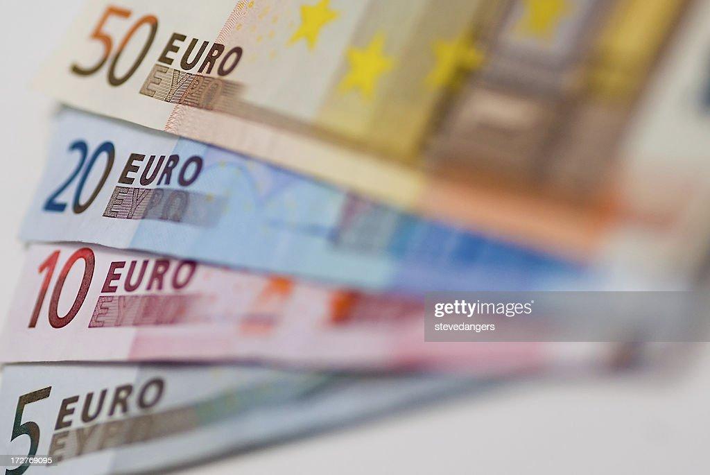 Euros : Foto de stock