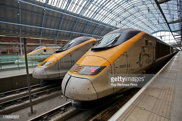 Eurostar is a high speed railway service connecting London with Paris and Brussels. All its trains traverse the Channel Tunnel between the United...