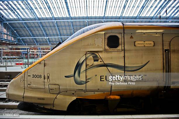 CONTENT] Eurostar is a high speed railway service connecting London with Paris and Brussels All its trains traverse the Channel Tunnel between the...