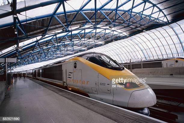 Eurostar Train at Gare du Nord