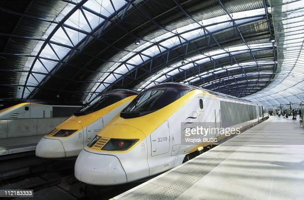 Eurostar Train at Waterloo StationLondon