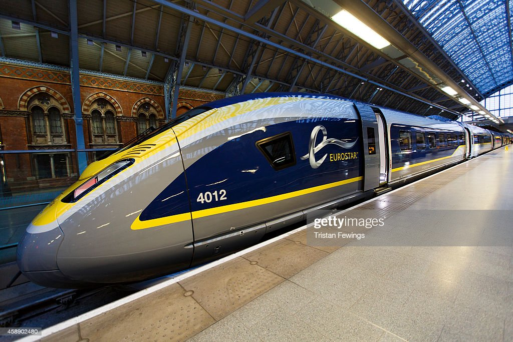 Launch Of Eurostar's New Fleet, The e320, And The Celebration Of Its 20th Anniversary : News Photo