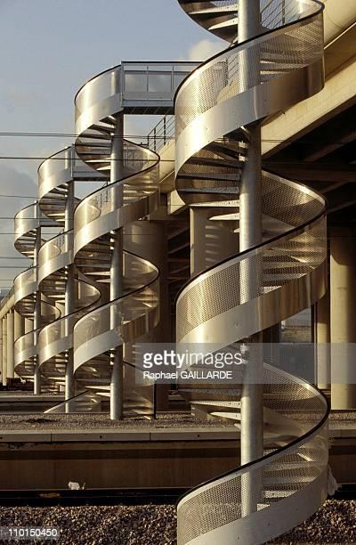 Eurotunnel: Opening day J-400 in France on November 15, 1992.