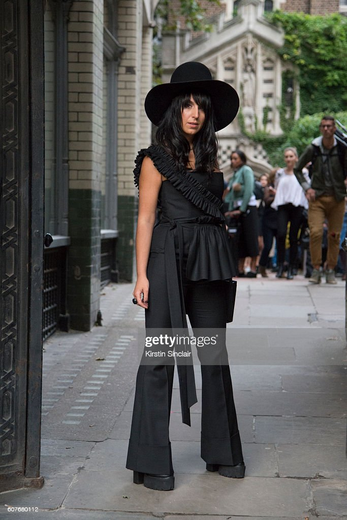Street Style - Day 1 - LFW September 2016
