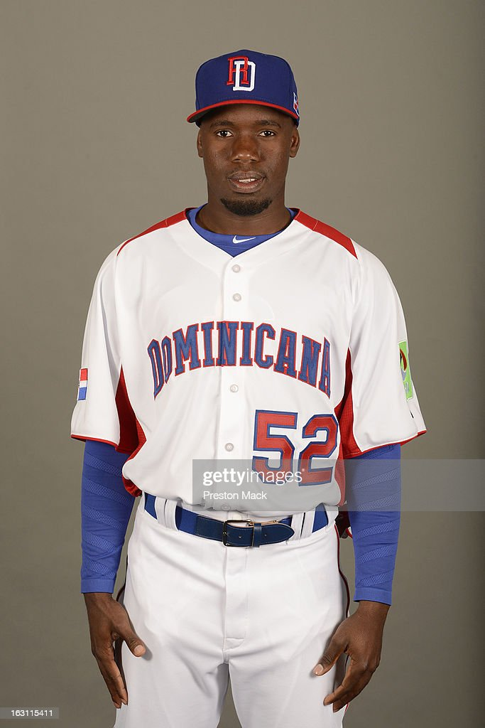 Eury Perez #52 of Team Dominican Republic poses for a headshot for the 2013 World Baseball Classic on March 4, 2013 at George M. Steinbrenner Field in Tampa, Florida.