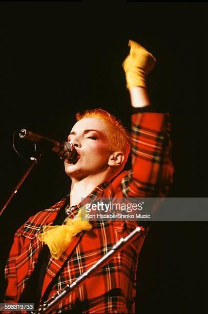 Eurythmics Annie Lennox live at Shibuya Public Hall Tokyo June 10 1984