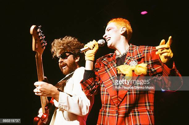 Eurythmics live at Shibuya Public Hall Tokyo June 10 1984