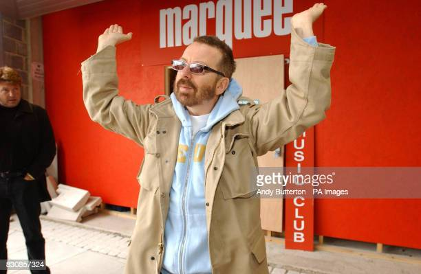 Eurythmics musician Dave Stewart during a photocall in Islington where it was announced that The Marquee one of the UK's most famous music venues is...