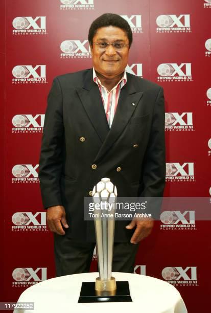 Eusebio Da Silva Ferreira Portugese legends Eusebio and Chilean hero Elias joined Celador international in Cannes today at the international launch...