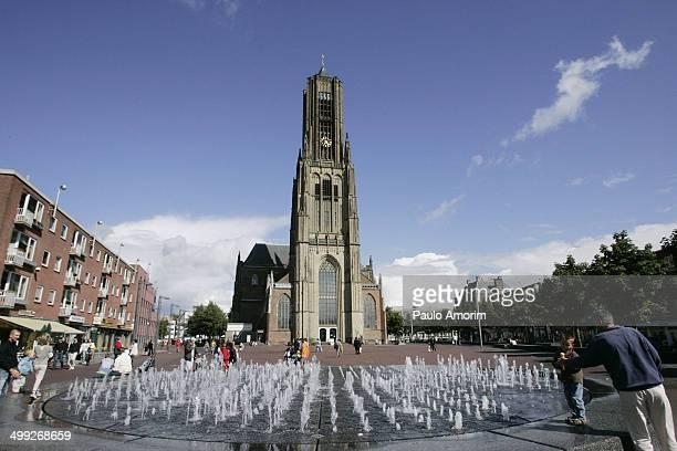 Eusebius Church symbol of the resistence and liberation of Arnhem of Nazis during of II War World.