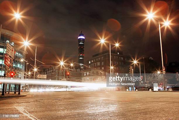 Euston at night