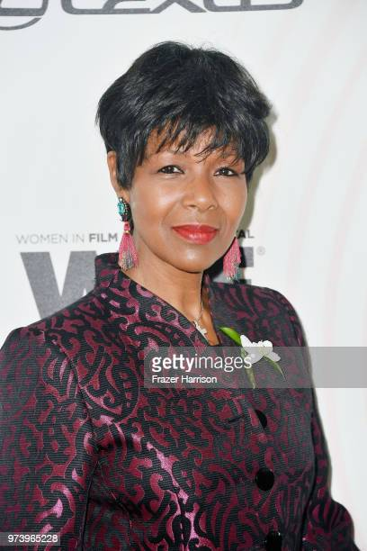 Euzhan Palcy attends the Women In Film 2018 Crystal Lucy Awards presented by Max Mara Lancôme and Lexus at The Beverly Hilton Hotel on June 13 2018...