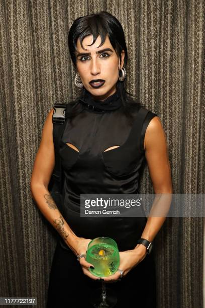 Eva Al Desnudo attends as BFC Alexa Chung celebrate British Creative Talent in Paris at the Hoxton on September 28 2019 in Paris France